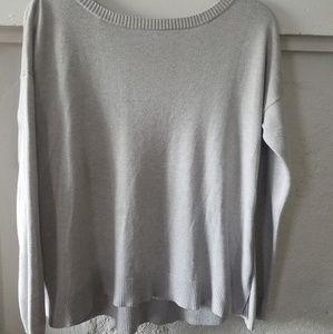 lululemon athletica Sweaters - Lululemon Soft Light Gray Sweater